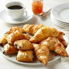 mini croissants for breakfast