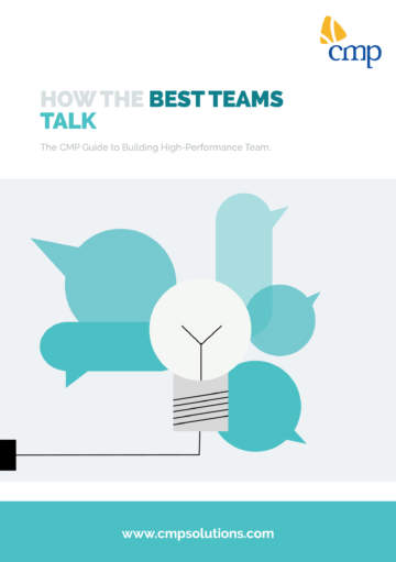 White Paper - How the best teams talk