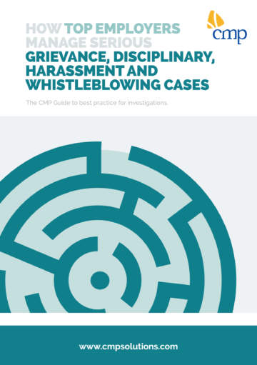 White Paper - How top employers manage serious grievance, disciplinary and harassment cases