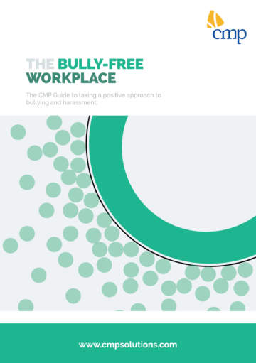 White Paper - The bully free workplace